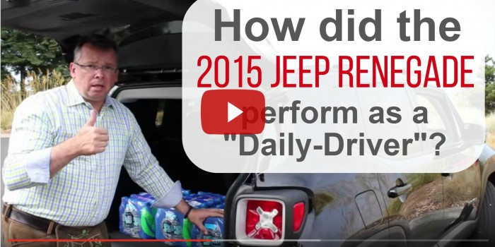 2015 Jeep Renegade test drive review Tacoma