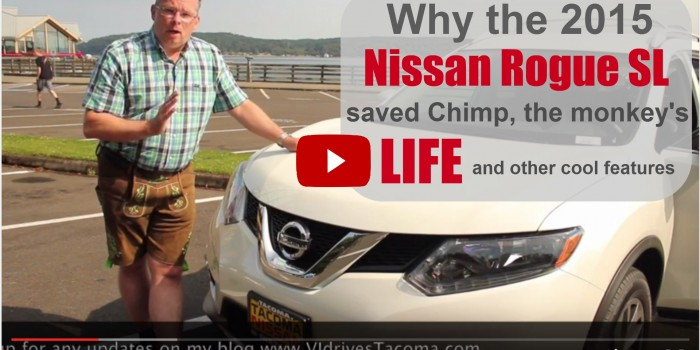 2015 Nissan Rogue test review in Tacoma