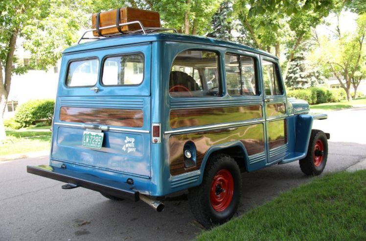 The Daily Dose - Restored 1960 Jeep Willys Utility Wagon