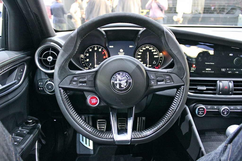 Alfa Romeo Giulia Interior Photos