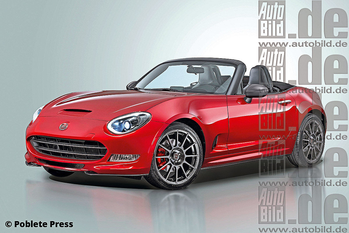 Is The Fiat 124 And Alfa Romeo Spider  ing Back on new fiat 124 spider convertible