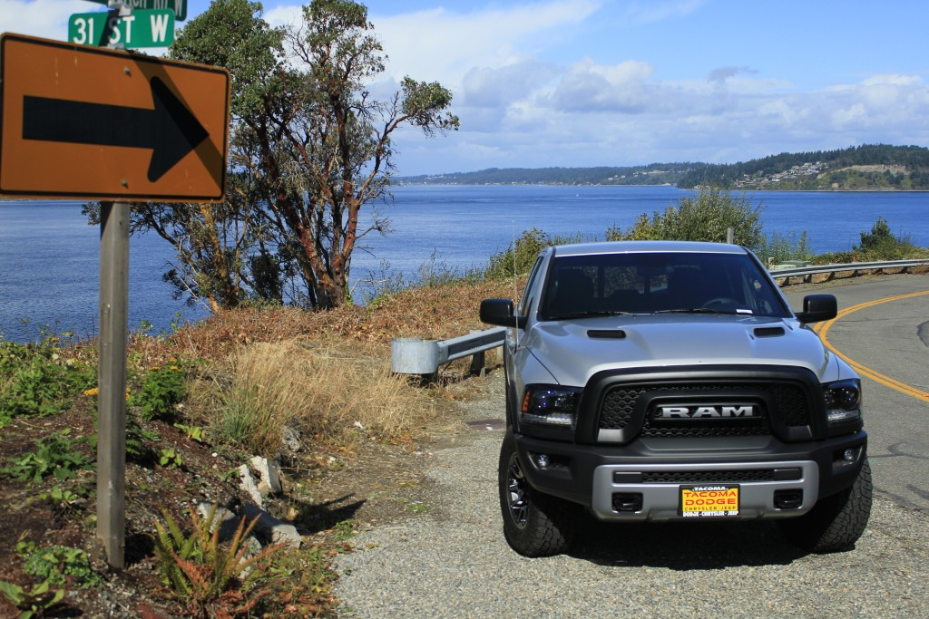 The Ram Rebel Pickup won't disappoint Tacoma drivers