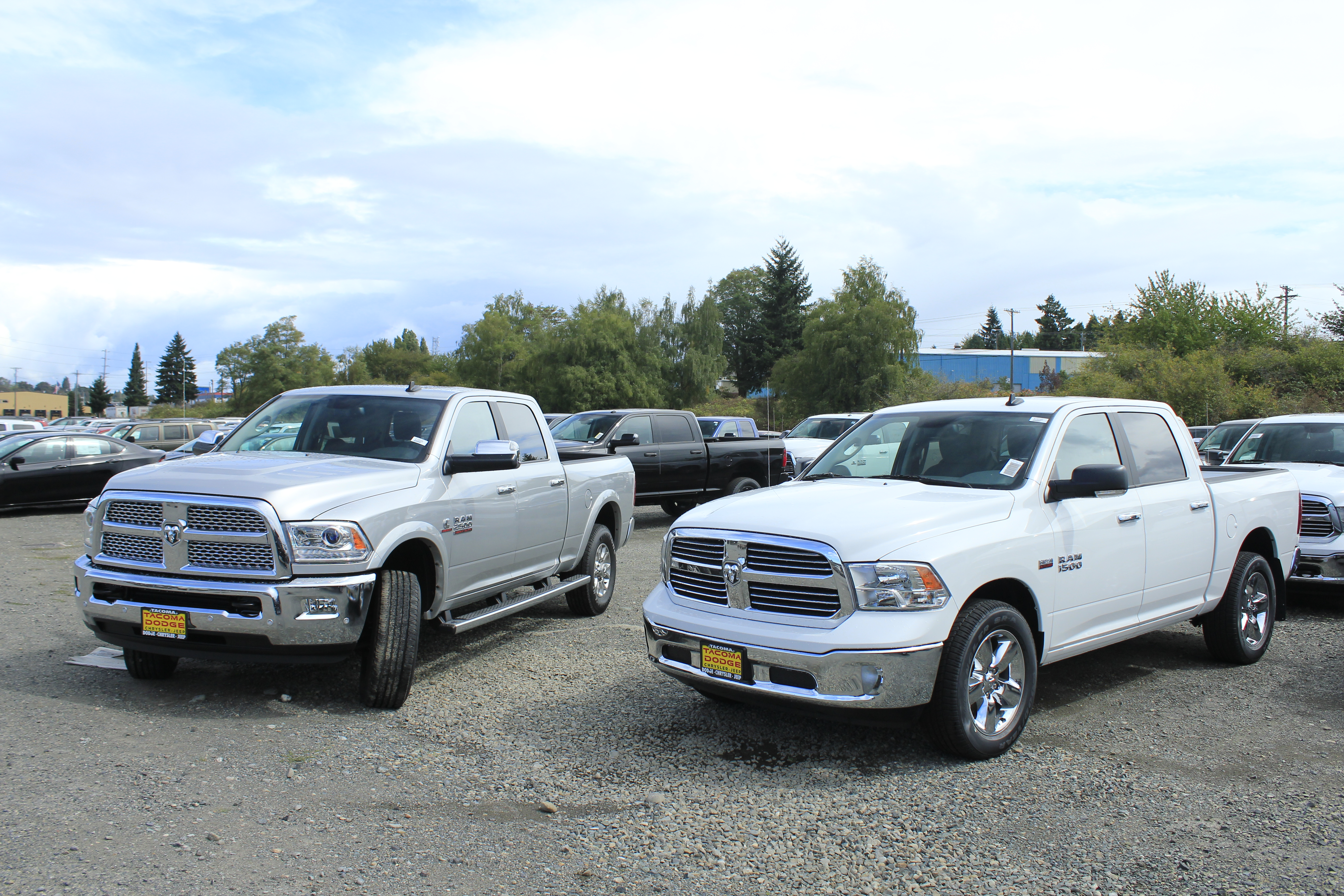 Test drive review around Ta a in the 2016 Ram 2500 HD VJ Drives