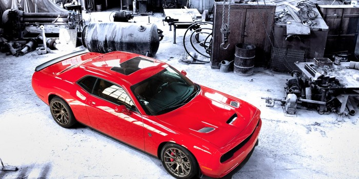 Dodge Challenger SRT Hellcat - Handle With Care