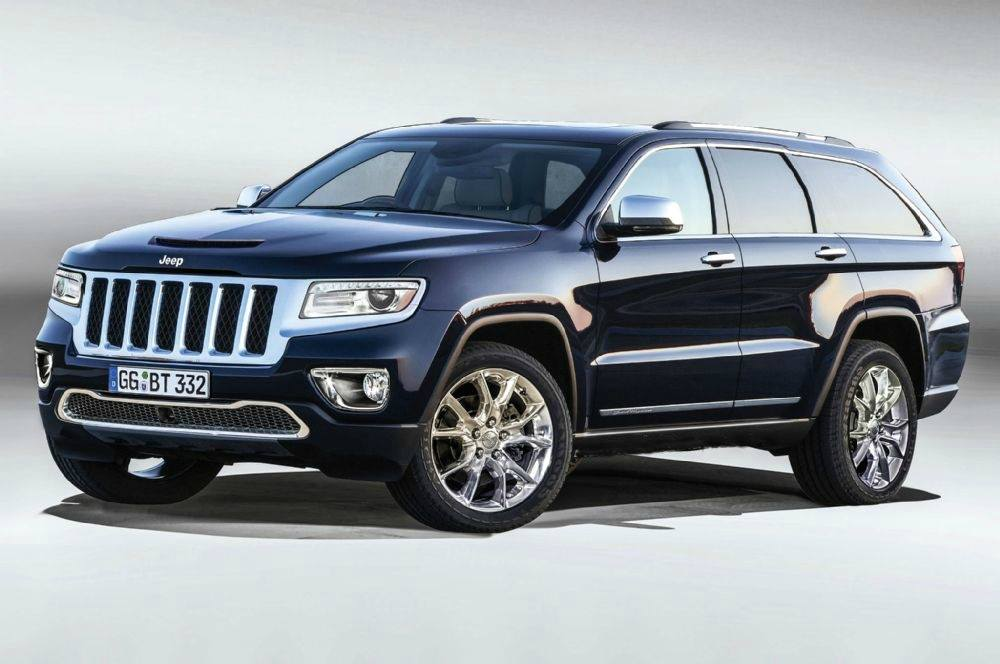 Ram is planning a large SUV - here a rendering of the Jeep Wagoneer
