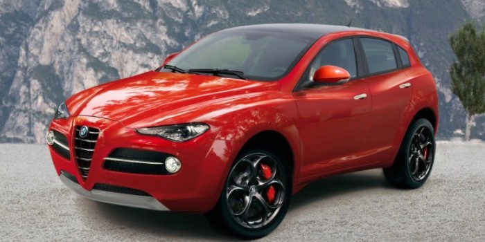 Is this the new Alfa Romeo SUV?