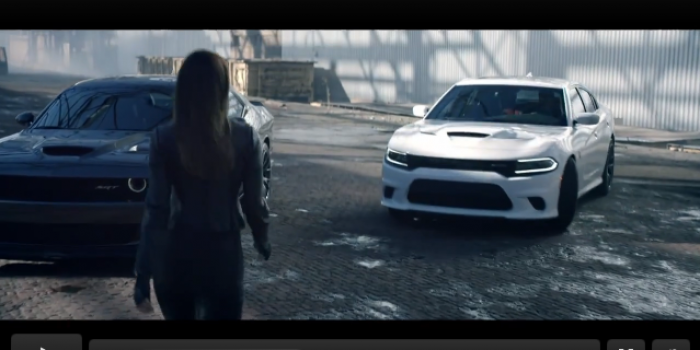 Who Needs X-Wing Fighters When There Is A Dodge Hellcat for the Hunger Games
