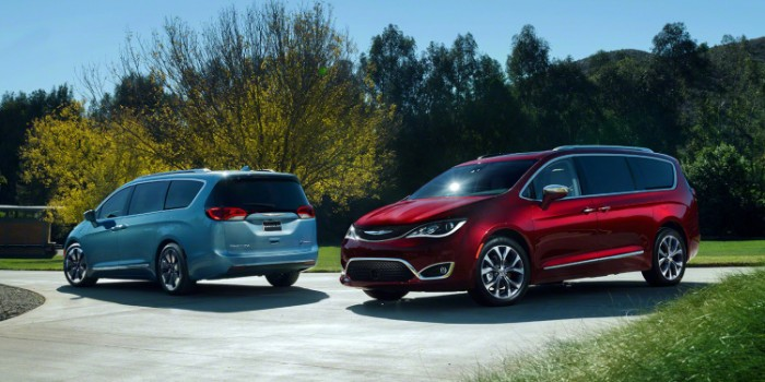 Chrysler Reveals New Chrysler Pacifica