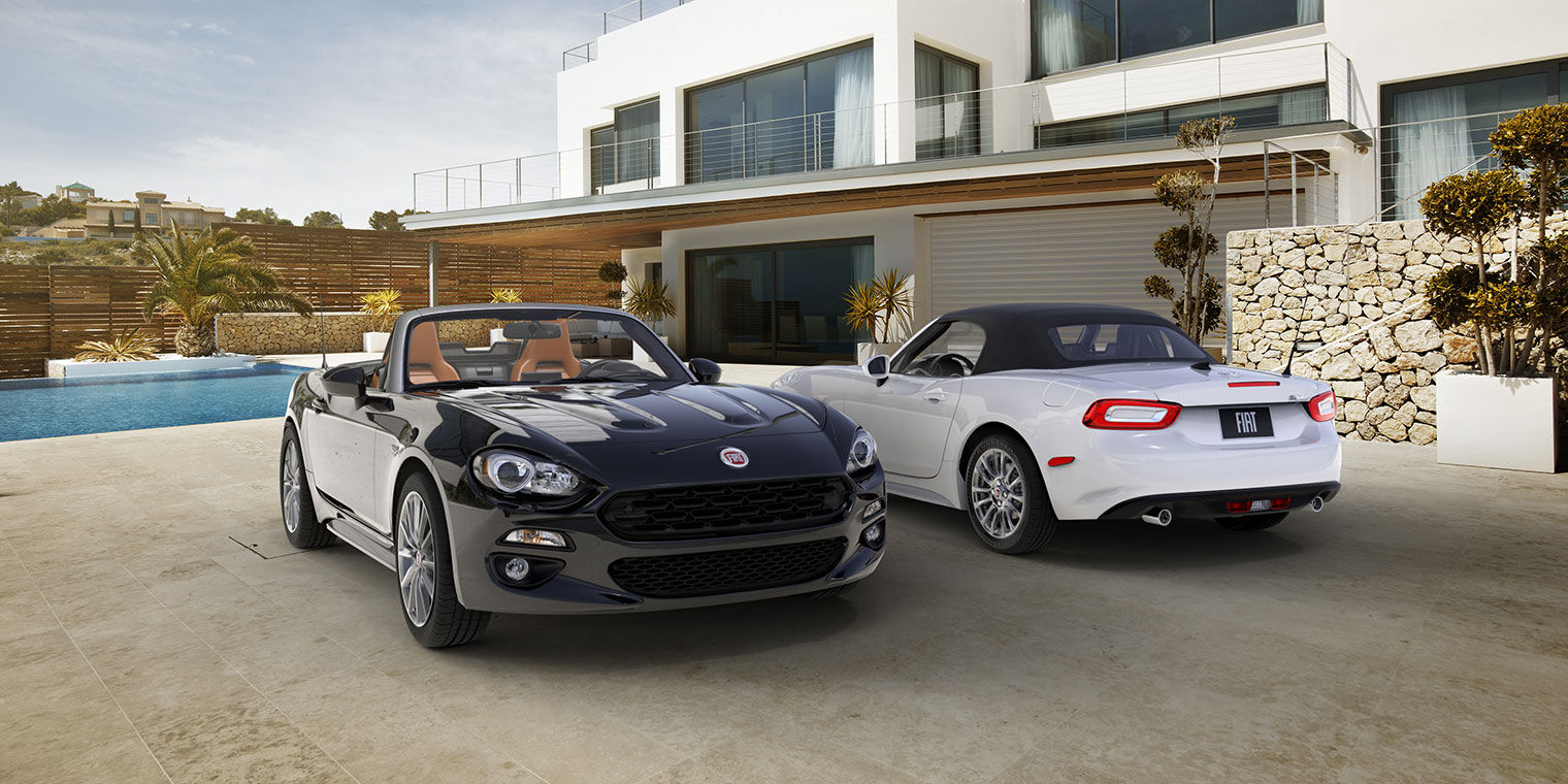 The FIAT 124 Spider will come first in 2 models to Fiat of Tacoma