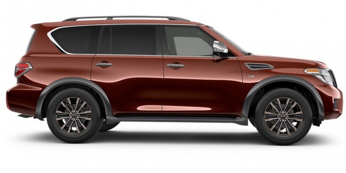 2017 Nissan Armada shows up in Tacoma, WA