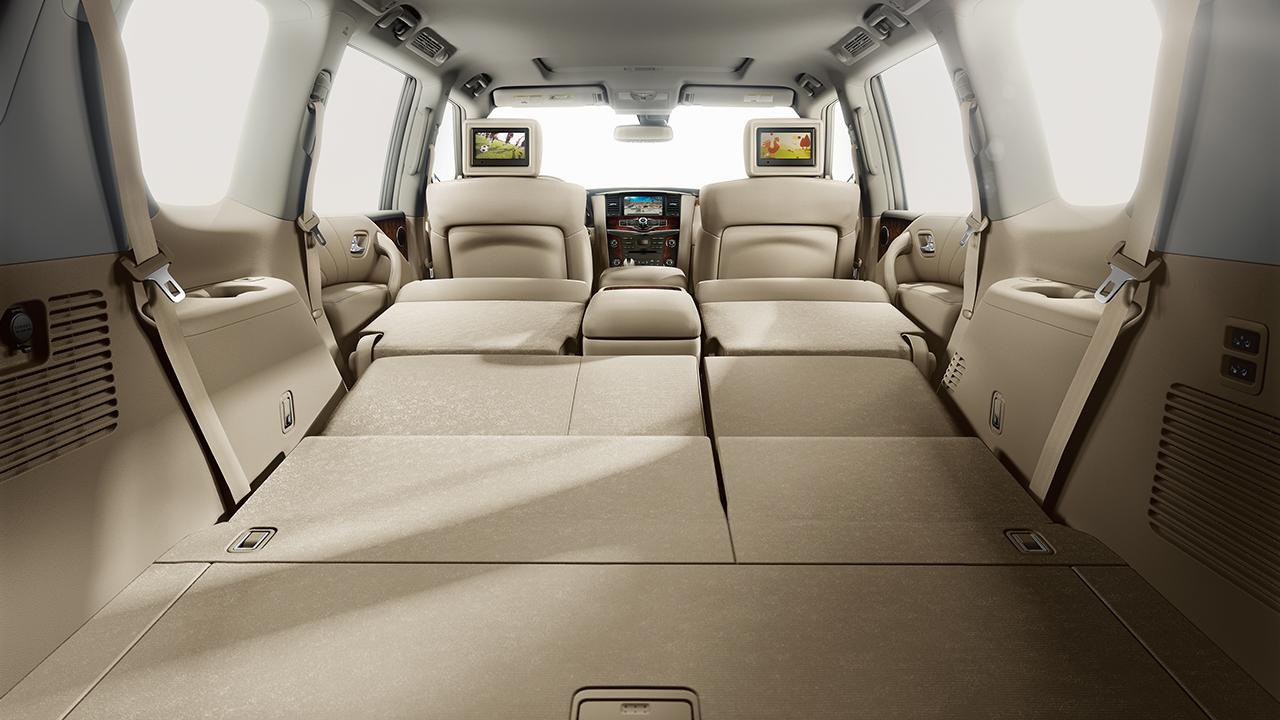 2017 nissan armada interior cargo vj drives tacoma. Black Bedroom Furniture Sets. Home Design Ideas
