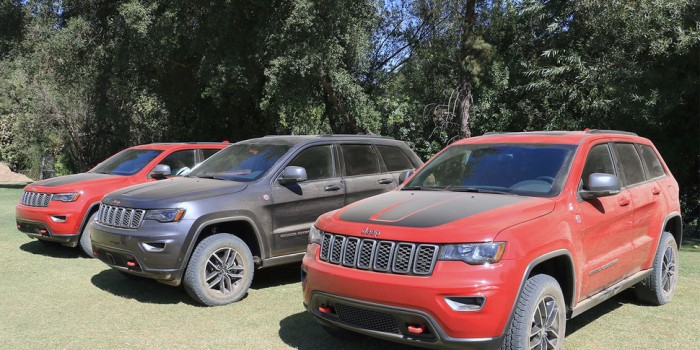 2017 Jeep Grand Cherokee Trailhawk Impressions
